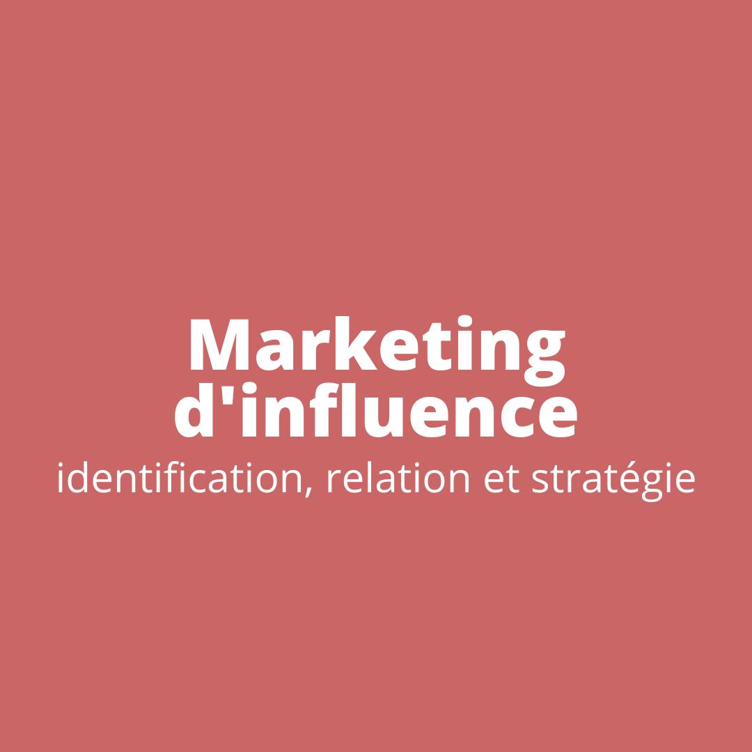 Catégorie Marketing d'influence